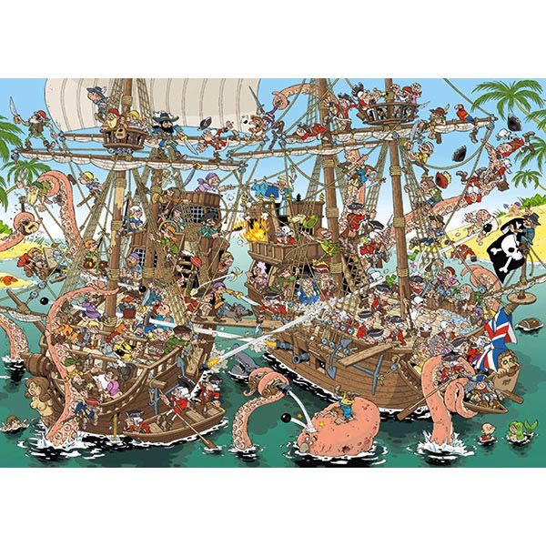Pirates Pieces of History 1000pc Puzzle