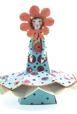 Miss Blossom Paper Toy & Glitter