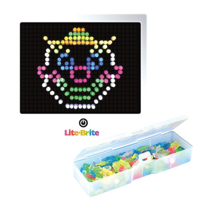 Lite Brite - create with light