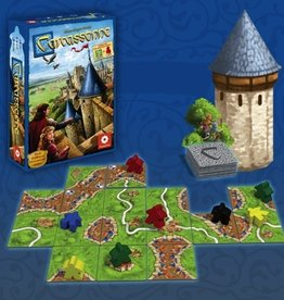 A best-selling tile-based board game for 2 to 5 players.