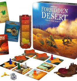 Forbidden Desert Game - Thirst for Survival