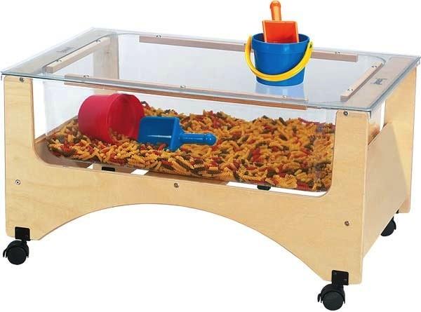 Jonti-Craft® Toddler See-Thru Sensory Table