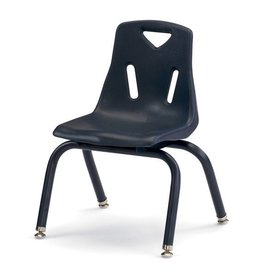 "Jonti Craft Berries Plastic Chair 12"" Navy"