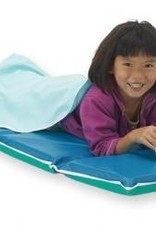 """Our deluxe, heavy-duty 2"""" rest mat is made from strong 10-mil vinyl in a heat sealed mat."""