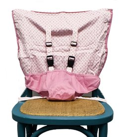 Mint Marshmallow Travel Seat : Pearl Pink