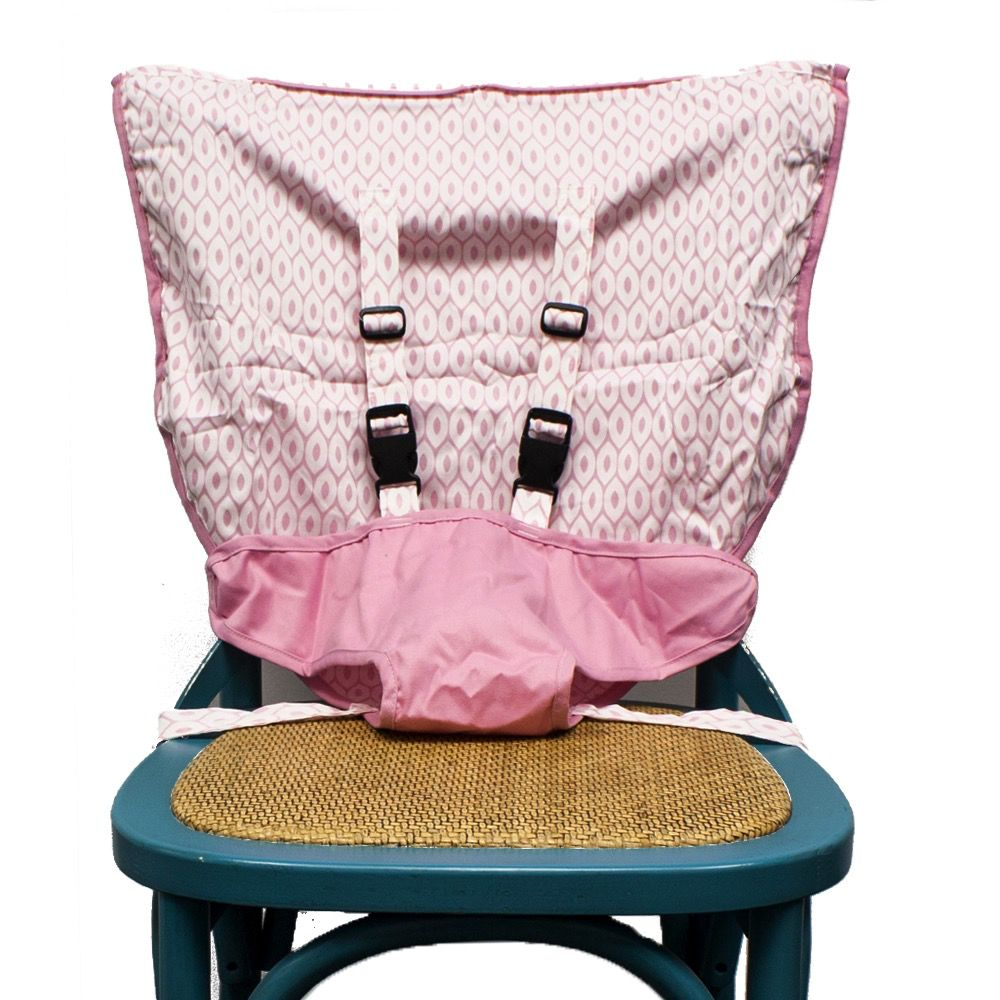 Mint Marshmallow Travel Seat : Pearl Pink