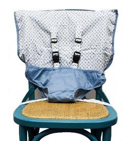 Mint Marshmallow Travel Seat : Steel Blue