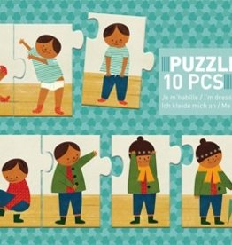 I Am Dressing Up Sequence Puzzle