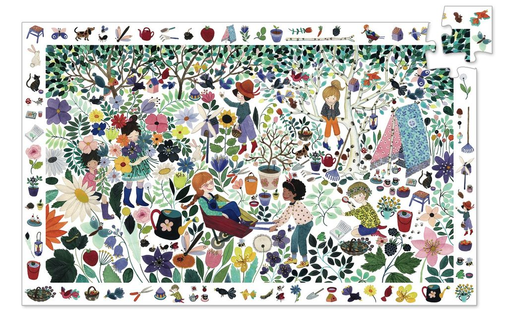 Discovery Puzzle: 1000 Flowers 100pc Puzzle
