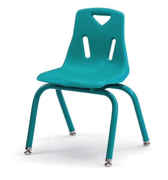 """Berries Plastic Chair 14"""" Teal"""