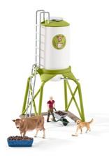 Schleich Feed Silo with Animals