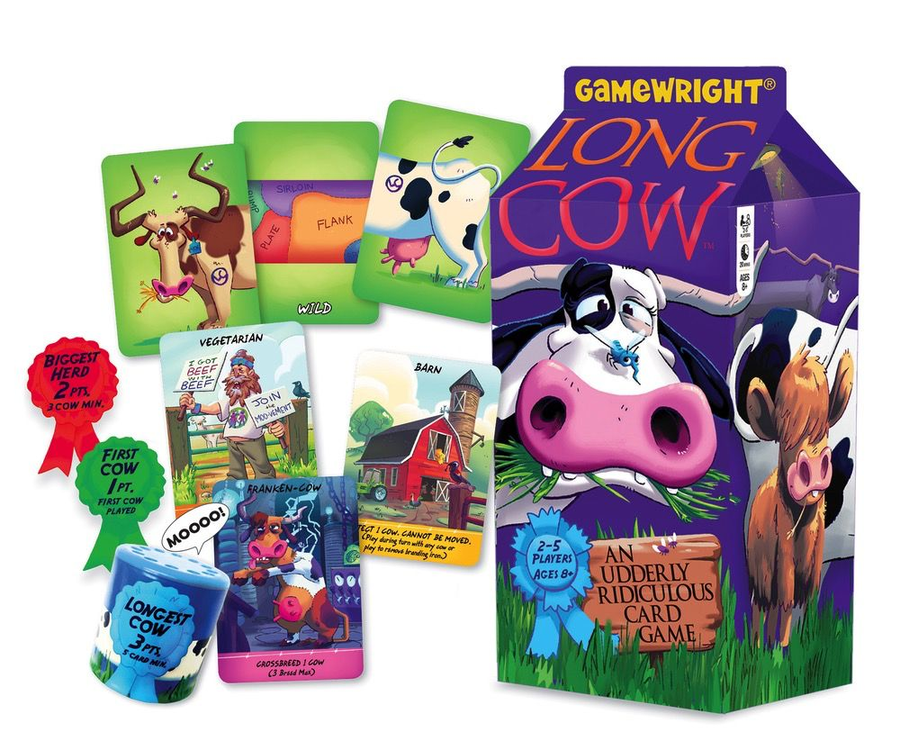 Long Cow - An Udderly Ridiculous Card Game