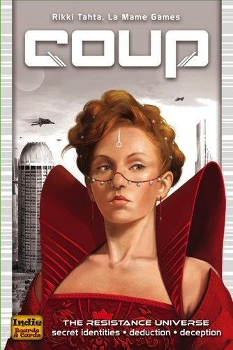 Coup - The Resistance Universe Bluffing Game