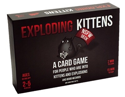 Exploding Kittens NSFW Deck (Adults Only)
