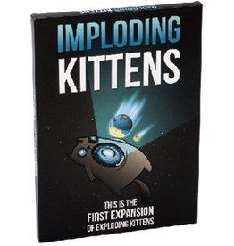 Imploding Kittens - first expansion for Exploding Kittens