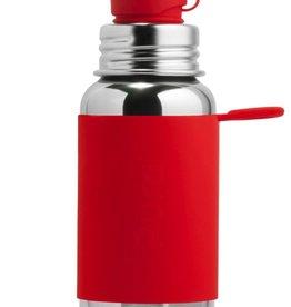 Pura Sport Stainless Steel Bottle Red Sleeve 550ml