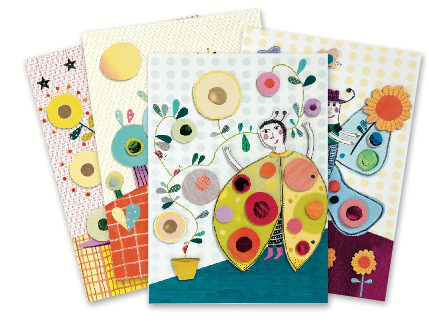 Djeco - Collages for Little Ones: So Pop