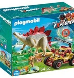 Playmobil - Explorer Vehicle with Stegosaurus