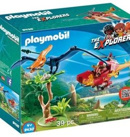 Playmobil - Adventure Copter with Pterodactyl
