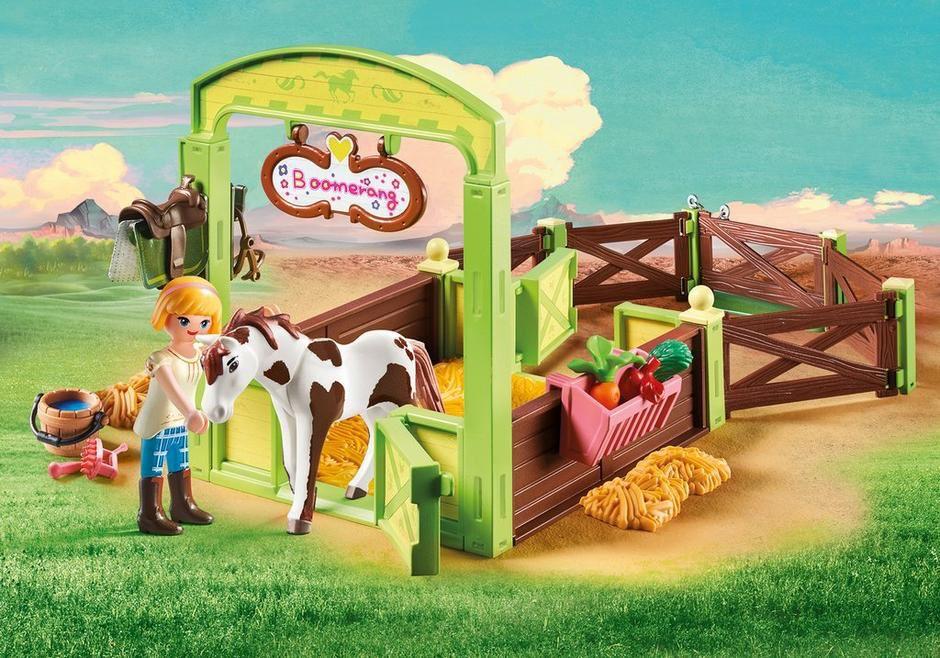 Playmobil Spirit - Abigail & Boomerang