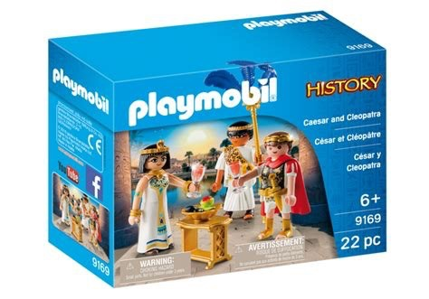 Playmobil History - Caesar and Cleopatra