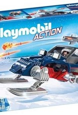 Playmobil Action - Ice Pirate with Snowmobile