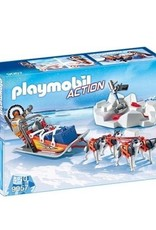 Playmobil Action - Husky-Drawn Sled