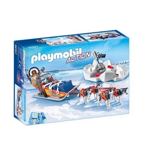 Playmobil Action - Husky-Drawn Sled