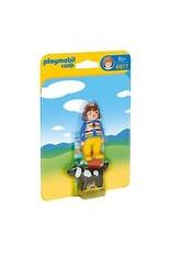 Playmobil 123 - Woman with Dog