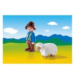 Playmobil 123 - Shepherd with Sheep