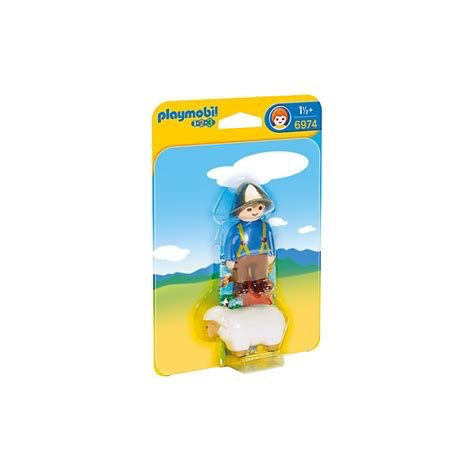 Playmobil 123 - Shepherd with Sheep