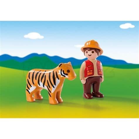 Playmobil 123 - Gamekeeper with Tiger