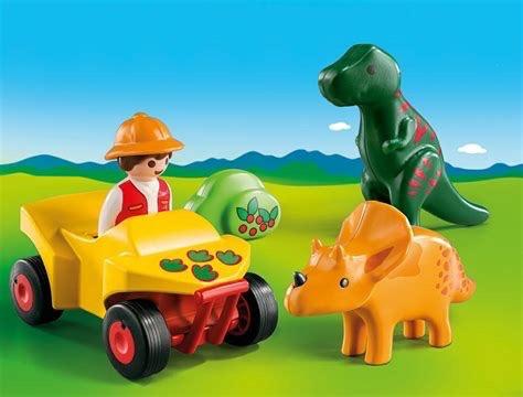 Playmobil 123 - Explorer with Dinos