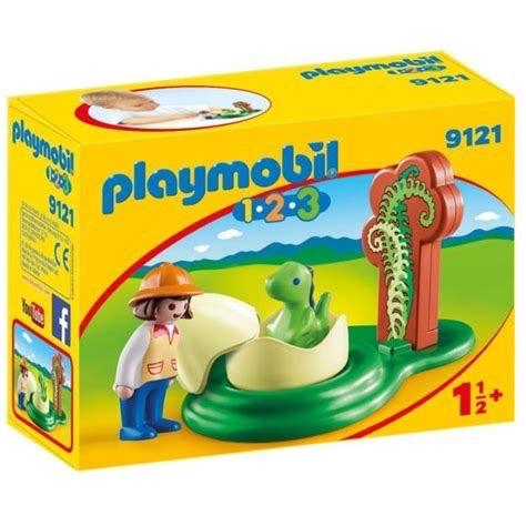 Playmobil 123 - Girl with Dino Egg
