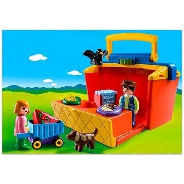 Playmobil 123 - Take Along Market Stall