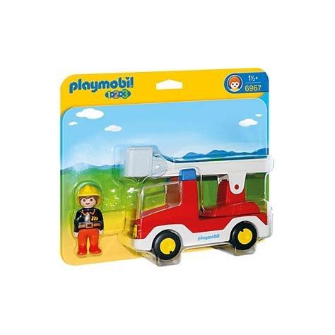 Playmobil 123 -  Ladder Unit Fire Truck