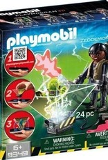Playmobil Ghostbusters - Zeddemore with Ghost