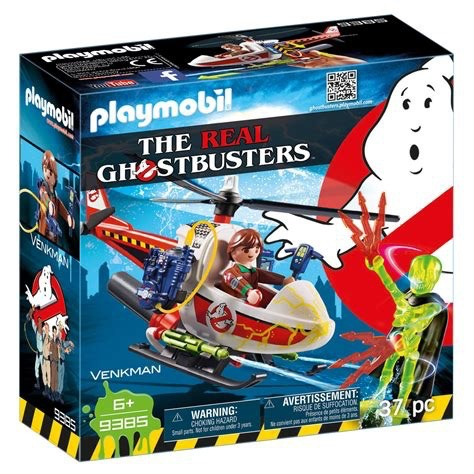 Playmobil Ghostbusters - Venkman with Helicopter