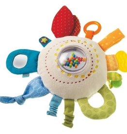 Haba - Teether Cuddly Rainbow Round