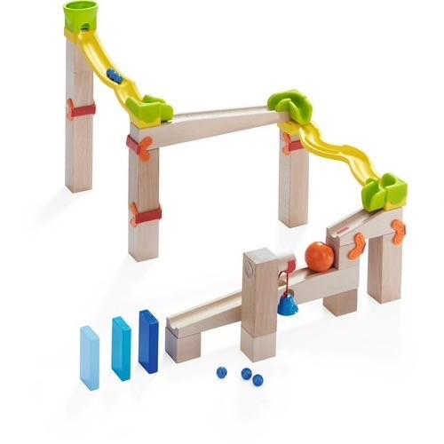 Haba - Ball Track Basic Pack Switch Track