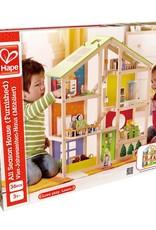 All Season Furnished Doll House