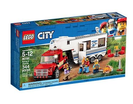 LEGO® City Pickup & Caravan