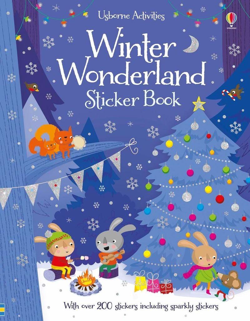 Winter wonderland sticker book
