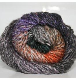 Noro Silk Garden, Black, Pink,Grey, Orange color 376