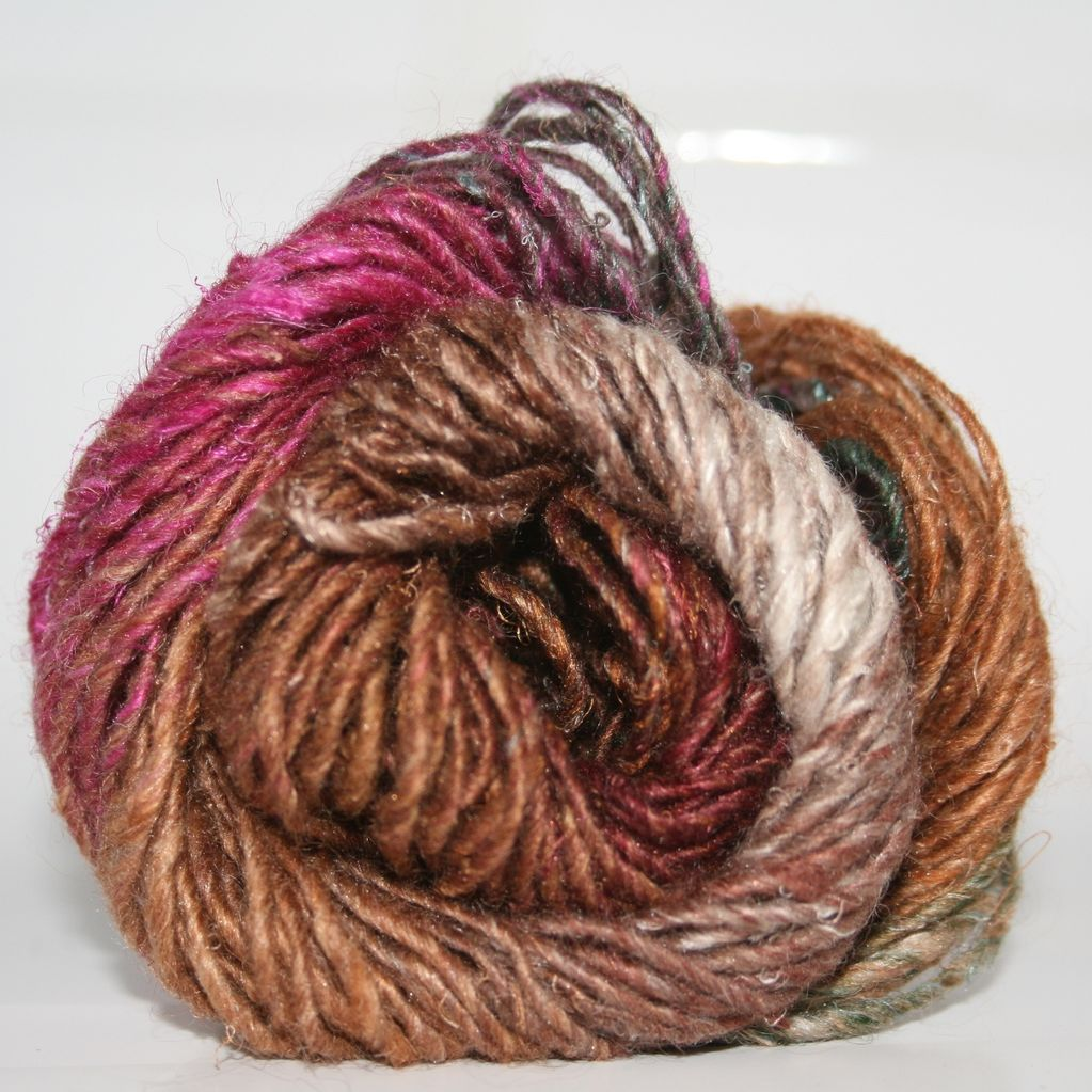 Noro Silk Garden, Brown, Wine, Cream color 364 (Discontinued) - For ...