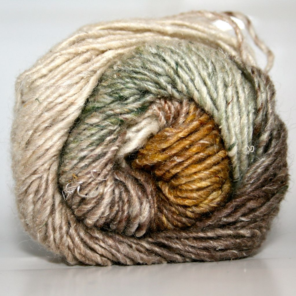Noro Silk Garden, Natural, Brown, Gold color 359 (Discontinued ...