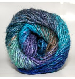 Noro Silk Garden, Blue, Sky, Royal, Lt. Green color 373