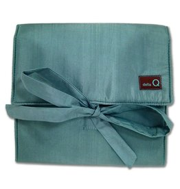 della Q The Que Circular Needle Case - Theo US 000 to US 6, Seafoam