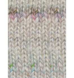 Noro Silk Garden Sock Solo, Natural/Soft Brown/Soft Pink Color 01