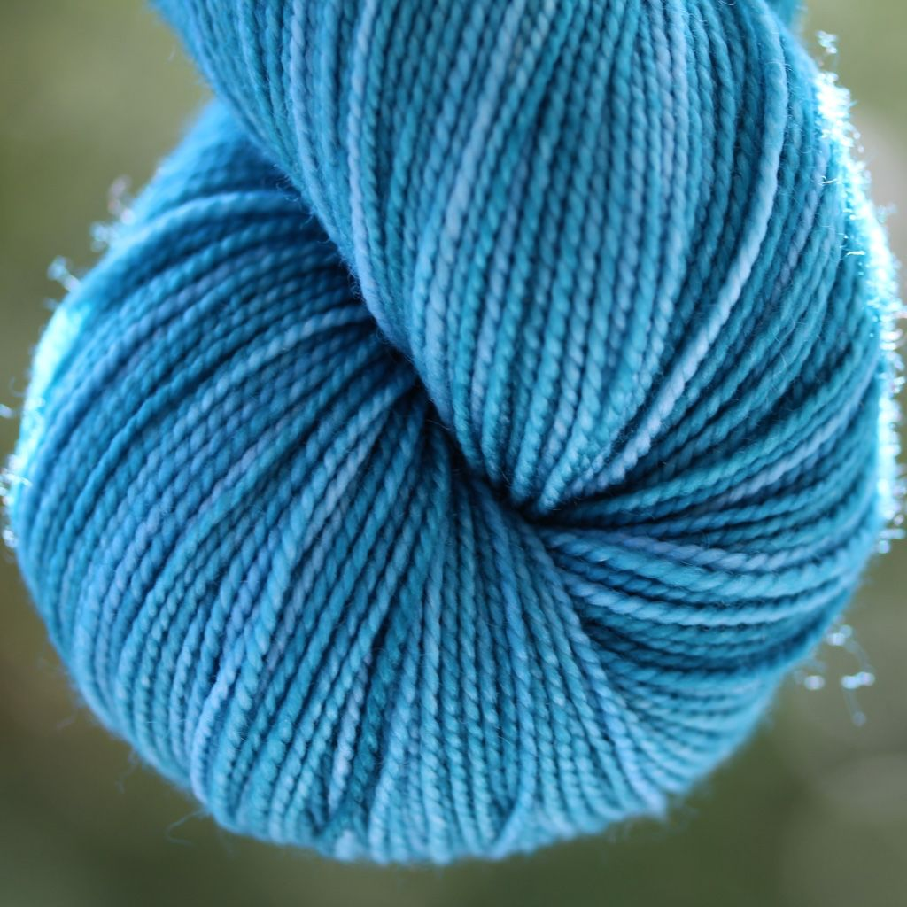 Alpha B Yarns BFF B, Teal Me